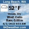 Weather for Long Beach, WA USA